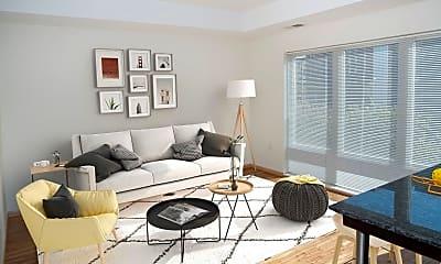 Living Room, 800 N 3rd St 407, 1