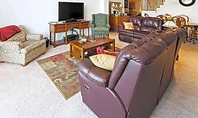 Living Room, The Mill At Glens Falls, 1