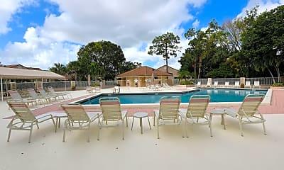 Pool, 802 Sabal Palm Ln, 2