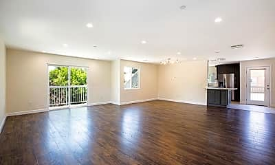 Living Room, 240 W Linden Ave 202, 1