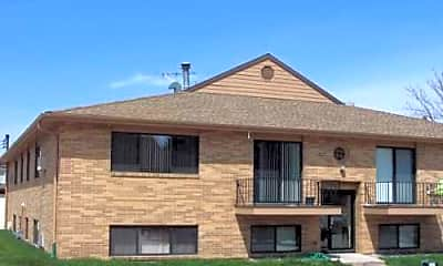 Building, Country Club Apartments, 1