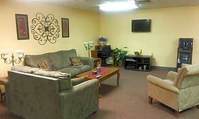 Living Room, Lodge Run Apartments, 1