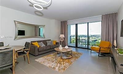 Living Room, 1600 NE 1st Ave 1617, 0