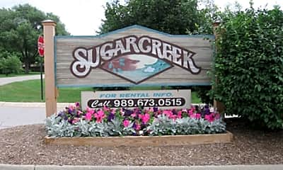Community Signage, Sugar Creek Apartments, 2