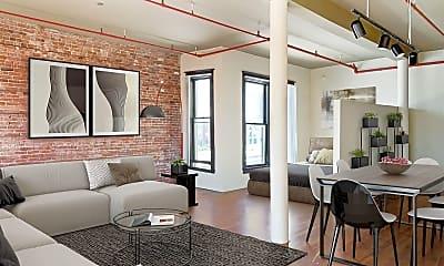 Living Room, 529 Market St, 1
