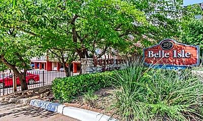 Community Signage, Belle Isle Terrace, 1