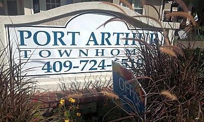Port Arthur Town Homes, 1