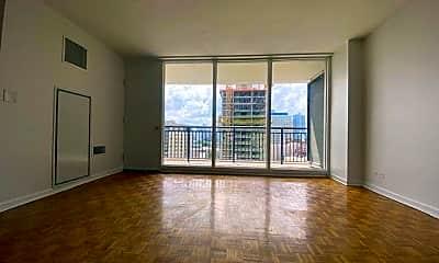 Living Room, 620 Peachtree St NE 1806, 1