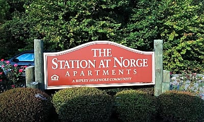 The Station at Norge, 1