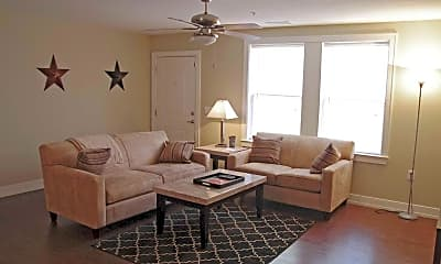 Living Room, The Avenue At Lubbock, 1