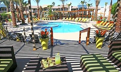 Pool, Level 550 Apartments, 0