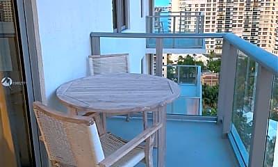 Patio / Deck, 4010 S Ocean Dr R903, 2