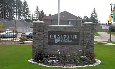 Community Signage, Country Club Villas, 2