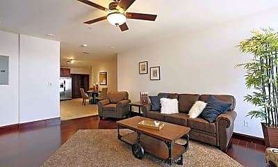Living Room, Gallery 720 Luxury High Rise, 0