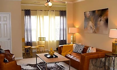 Living Room, Lexington Park Apartments, 1