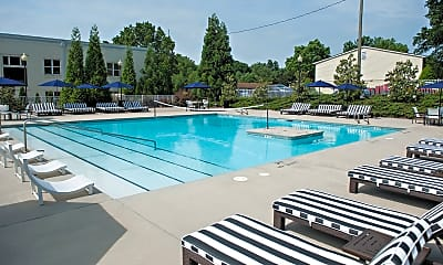 Pool, The Vic Student Apartments - Per Bed Lease, 1