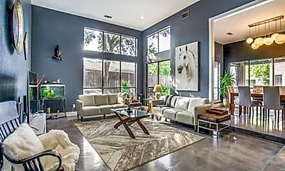 Living Room, 10102 Morgan Meadow Ln, 0