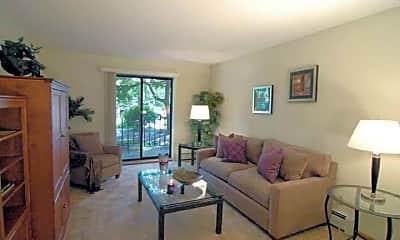 Living Room, Brier Creek Apartments, 1
