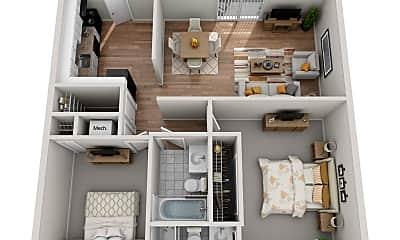Living Room, 3530 Victoria Park Rd, 1