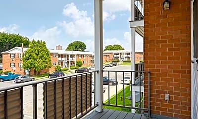 Patio / Deck, Allen Gardens Apartments, 2