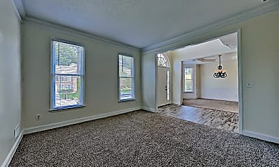 Living Room, 4925 Heards Forest Drive, 1