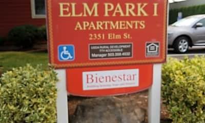 Elm Park Apartments, 1