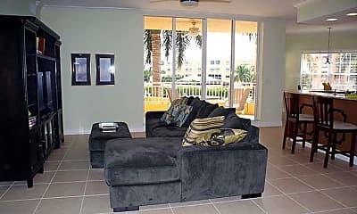 Living Room, 451 Bayfront Pl 5206, 1