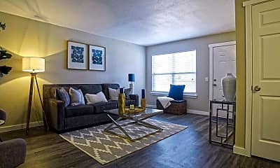 Living Room, Bennett Pointe Apartments, 0