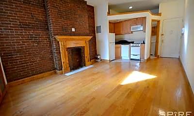 Living Room, 346 W 47th St 4C, 1