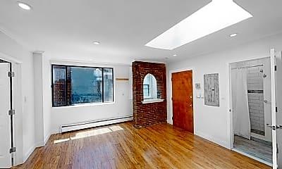 Living Room, 214 Hanover St., #3, 2