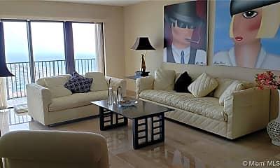 Living Room, 1201 S Ocean Dr 2306N, 1