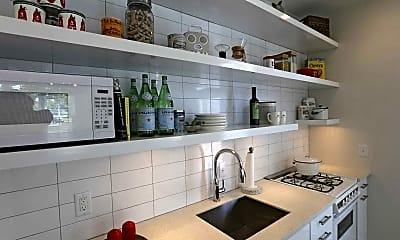 Kitchen, Link Apartments Mixson, 1