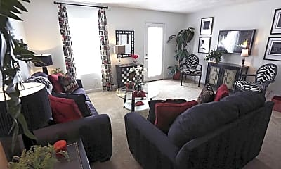 Living Room, Beaver Creek Apartments and Townhomes, 0