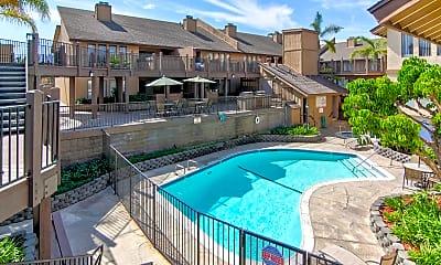 Pool, Heatherwood Apartments, 0