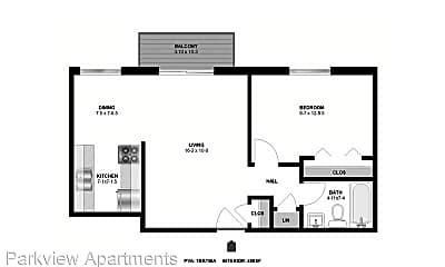 Building, 4200 3rd St NE, 1