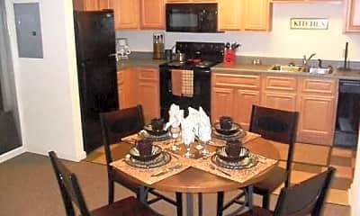 Kitchen, The Arch Abilene - Per Bed Lease, 2