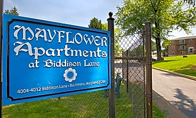 Community Signage, Mayflower at Biddison Lane, 0