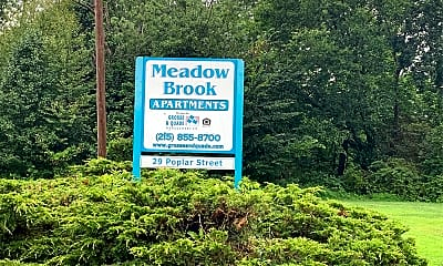 Meadow Brook Apartments, 1
