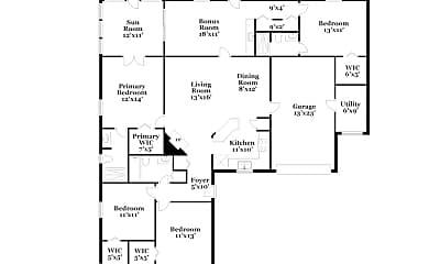 Building, 3464 Constance St, 1