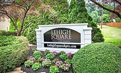 Community Signage, Lehigh Square, 1