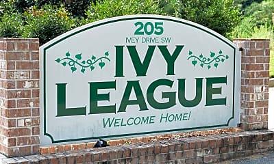 Community Signage, Ivy League Estates Apartments, 2
