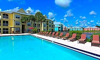 Pool, Bermuda Estates At Ormond Beach, 0