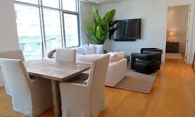 Living Room, 1177 22nd St NW 4L, 1