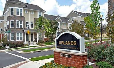 Community Signage, Uplands Apartments, 0