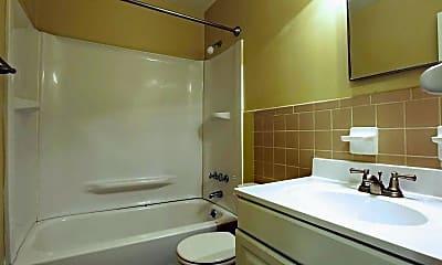 Bathroom, Valley Terrace Apartments, 2