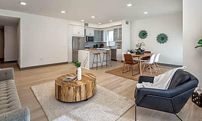 Living Room, 6800 Variel Ave, 1