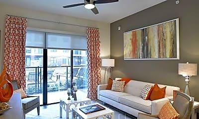 Living Room, Maple at Med Center, 1