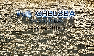 Community Signage, The Chelsea on Southern, 2