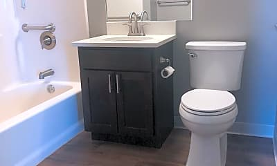 Bathroom, The Osborn/Huron Square, 2