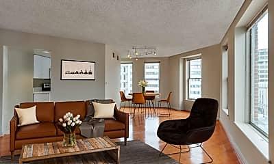 Living Room, 601 Pennsylvania Avenue NW 805, 1